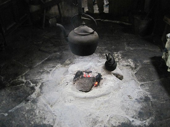 The Blackhouse: Peat fire