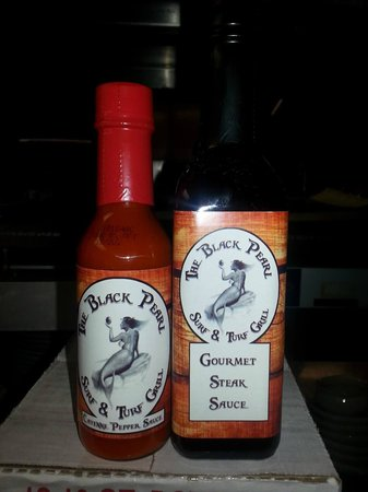 The Black Pearl Surf & Turf Grill: sauces