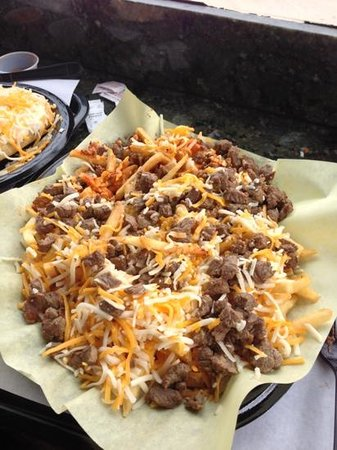 Taqueria's Cotixan Mexican: cotixan fries! huge and yummy