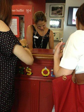 Ibis Styles Aix en Provence: rude receptionist