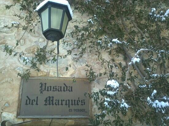 Hotel Restaurante La Posada del Marques: entrada