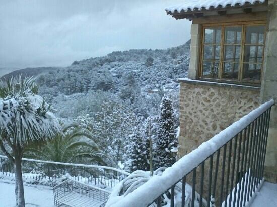 Hotel Restaurante La Posada del Marques: nieve