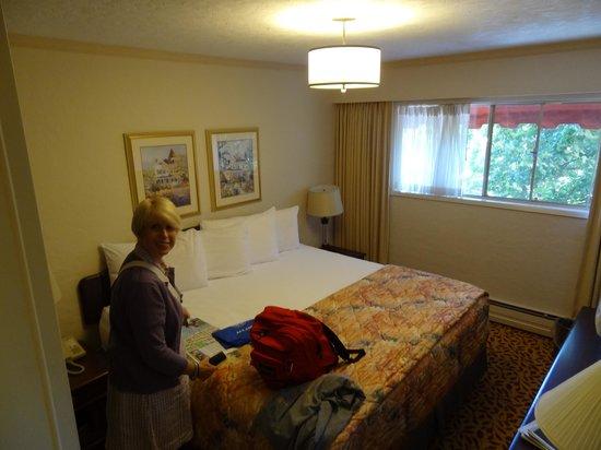 Royal Scot Hotel & Suites: King size bedroom