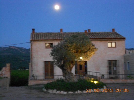 Mas Taniet L'Hotelet Rural : Super moon over Mas Taniet