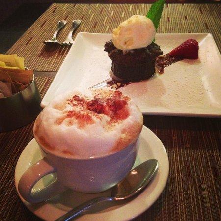 Aria Tuscan Grille: Dessert was just ok.