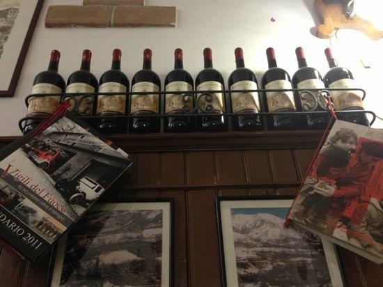 Trattoria della Stampa: Wine selection