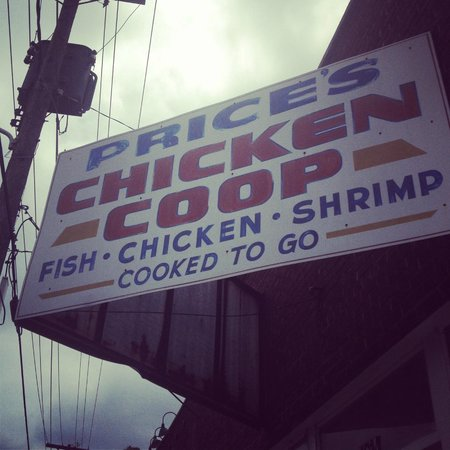 Price's Chicken Coop: Outside