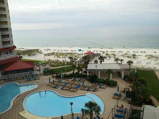 Hilton Pensacola Beach: even beautiful when stormy