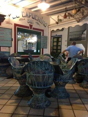 Restaurante El Capuchino 501: Pescado fresco, fresco