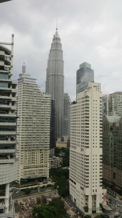 Shangri-La Hotel Kuala Lumpur: Vista desde la habitacion