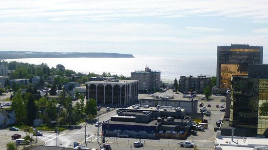 Westmark Anchorage: view from 11th floor