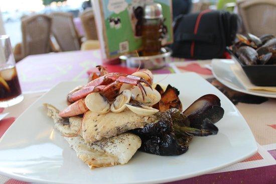 La Cantina de Portmany : Sea food Plate