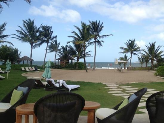 The St. Regis Bahia Beach Resort, Puerto Rico: beach view