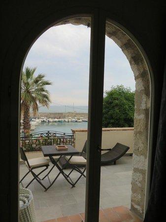 La Locandiera : View from Mare bedroom onto terrace