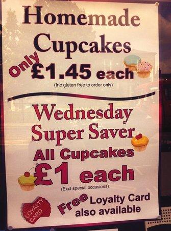 Claires Cupcakes: Wednesday super saver