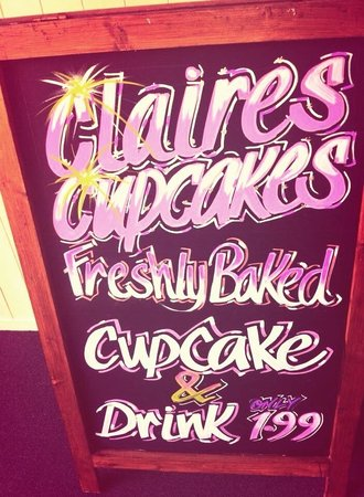 Claires Cupcakes: Meal deal