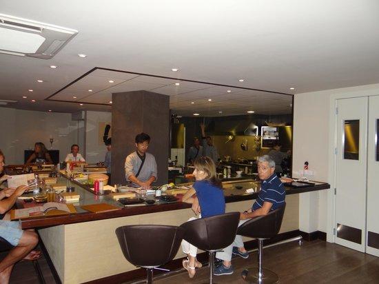 Zen Japanese Sushi Bar & Teppanyaki: Kitchen