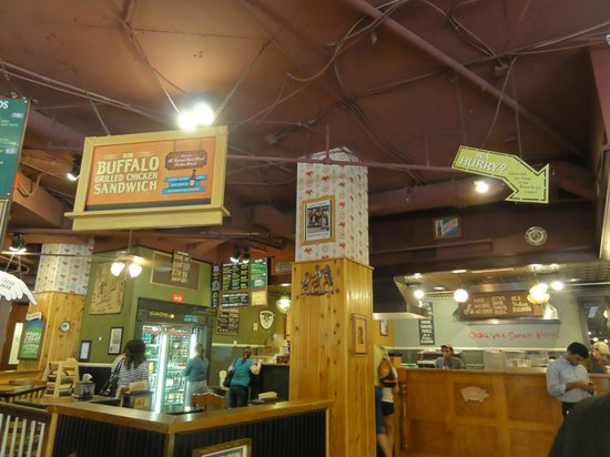 Potbelly Sandwich Works: Service counter