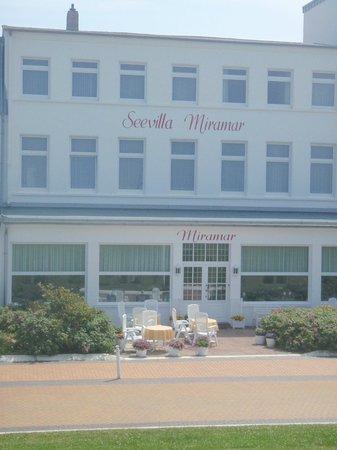 Seevilla Miramar: Außenansicht