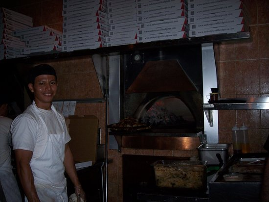 Anthony's Coal Fired Pizza: coal fired oven
