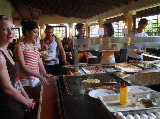 IFA Villas Bavaro Resort & Spa: mil formas de preparar los huevos al desayuno