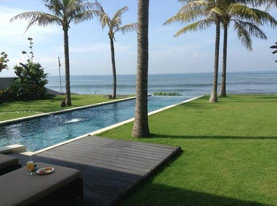 Pandawa Beach Villas & Spa: veiw