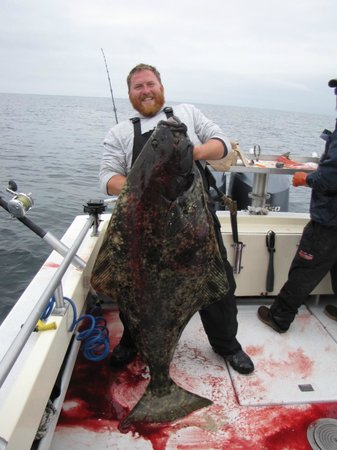 Crackerjack Sportfishing Charters : our biggest halibut