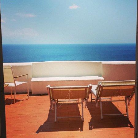 La Casa di Peppe Guest House & Villa: View from Balcony of New York Room at La Casa di Peppe