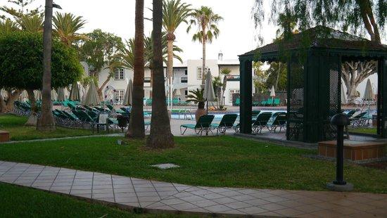 Apartamentos Barcarola Club: Outside apartment H6 door
