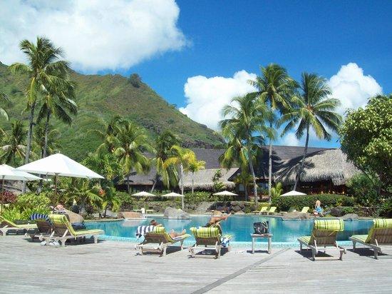 Hilton Moorea Lagoon Resort & Spa: pool :)