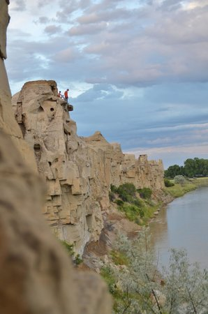 Help on writing the stone provincial park alberta