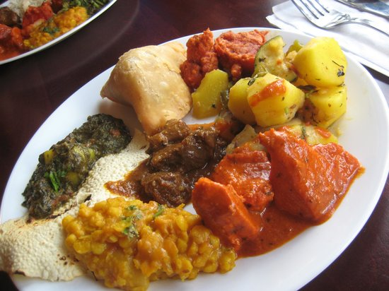 Taj Restaurant : Round 1
