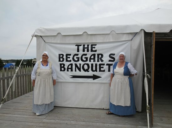 Point of View Suites at Louisbourg Gates: Our costumes.