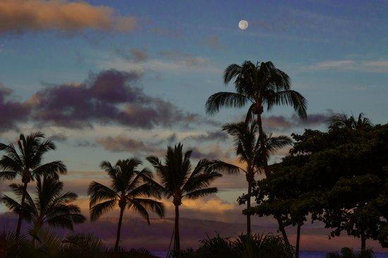 Aston Maui Kaanapali Villas: dawn from our lanai