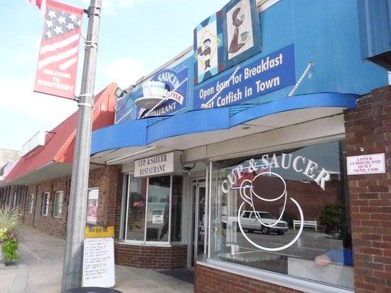 Cup & Saucer Restaurant : The Cup & Saucer!