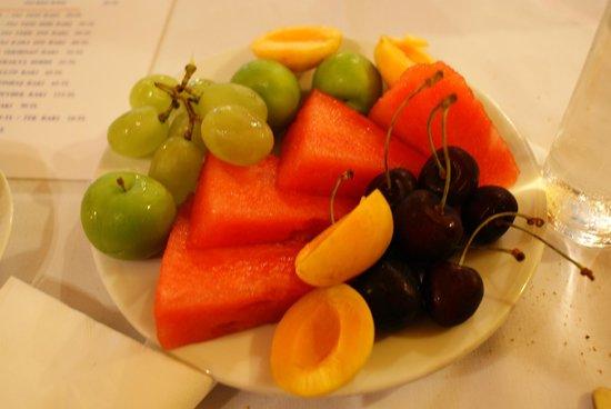 Asmali Cavit: Dessert