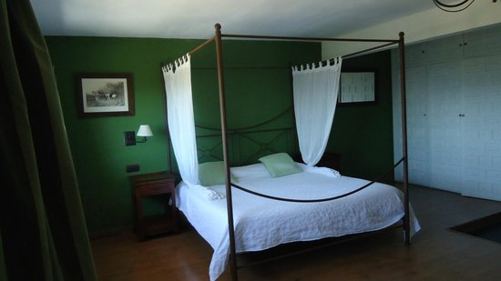 Casona de Navalmedio: habitacion