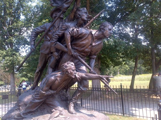 GettysBike Tours: Mississippi monument on Seminary Ridge