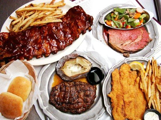 Fox & Hound Restaurant: Take your pick!!!