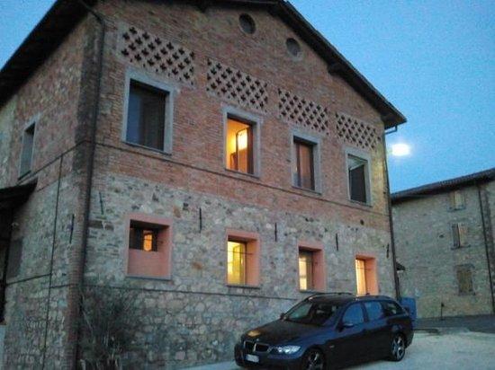 Castello di Serravalle, Italy: lato del ristorante