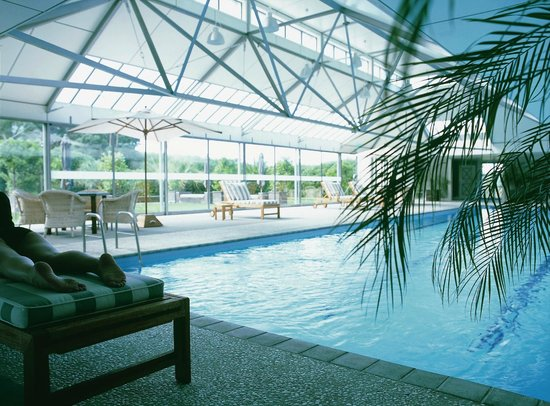 Wharekauhau Country Estate: Swimming Pool complex