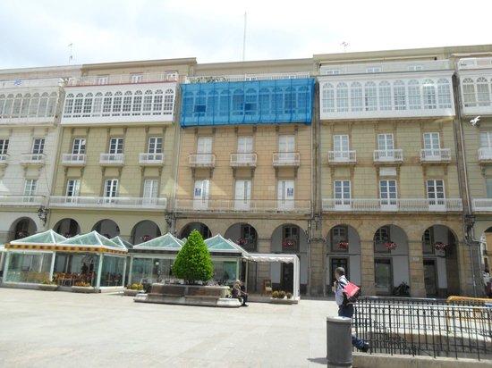 Plaza de María Pita: Una terraza para tomar algo