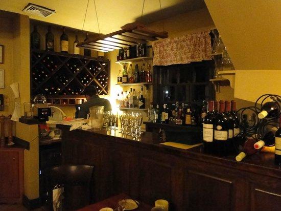 Kitchen At Powhatan Plantation: bar area