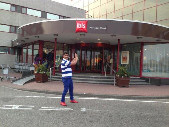 Hotel Ibis Schiphol Amsterdam Airport: Talib at Ibis Amsterdam