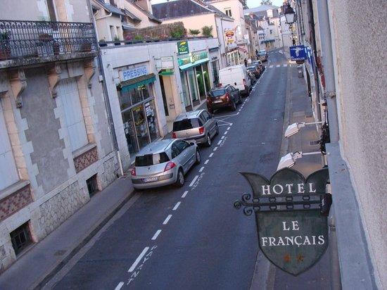 Hotel Le Francais : Hotel street view
