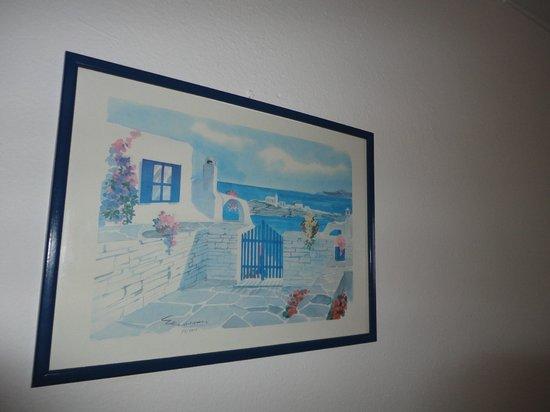Hotel Sourmeli Garden: cuadro decorativo!