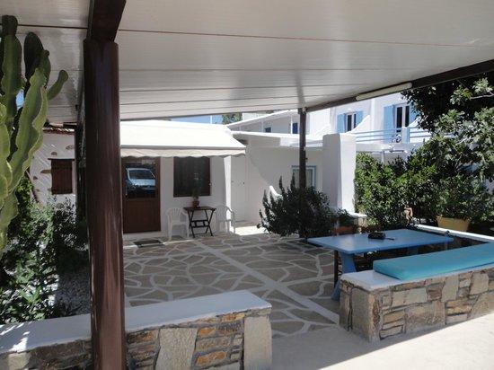 Hotel Sourmeli Garden: área en común al aire libre