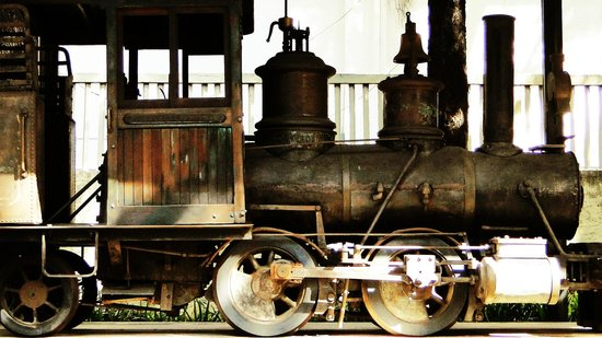 Abilio Barreto Historical Museum: Locomotiva do Museu