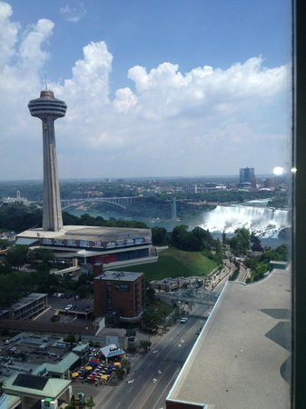 Hilton Niagara Falls/Fallsview Hotel & Suites: View from 2255
