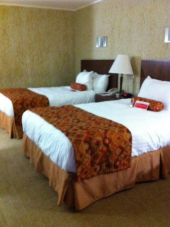 Oasis Hotel and Convention Center, an Ascend Hotel Collection Member : my room - two doubles
